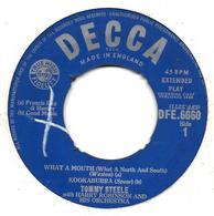 """Tommy Steele  """"  What A Mouth  """" - Vinyles"""