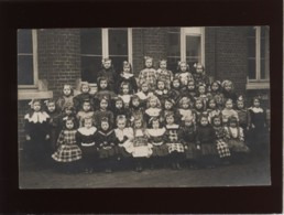 Laeken Carte Photo école Communale Sc 5 1908 Classe De Filles - Laeken