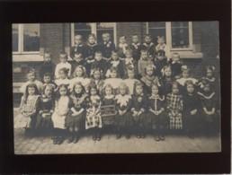 Laeken Carte Photo école Gardienne N° 5 1e Classe 14 Juin 1910 Garçons Et Filles - Laeken