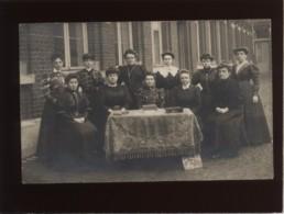 Laeken Carte Photo école Communale N° 5 Les Institutrices En 1908 - Laeken