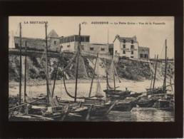 29 Audierne La Petite Grève Vue De La Passerelle édit. ELD N° 957 Bateaux De Pêche  , Rare - Audierne