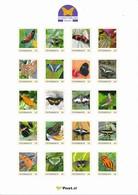 ÖSTERREICH Personalisierte Briefmarke - Schmetterling 20 Verschiedene - MNH - Schmetterlinge