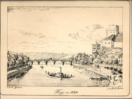 Vue De Huy En 1830 Gravée En... 1913 - Prints & Engravings