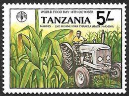 TANZANIE 1982  - YT  213 -  Journée Mondiale De L 'Alimentation   - NEUF** - Tanzanie (1964-...)