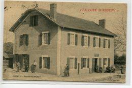 40 ONDRES Le Restaurant MORET Clients Et Patrons Terrasse La Cote D'Argent Edit Lafourcade 1914 écrite  D01 2019 - France