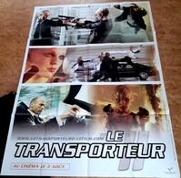 AFF CINE ORIG NEUVE LE TRANSPORTEUR II (2005) 120X160 Jason Statham Préventive - Posters