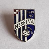 FOOTBALL CROATIA CLUB NK NERETVA METKOVIC  BROCHE INSIGNE  PIN   BADGE DISTINTIVO - Voetbal