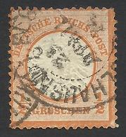 Germany, 1/2 Gr. 1872, Sc # 16, Mi # 18, Used. - Allemagne