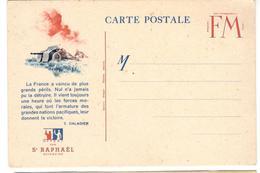 13476 - CP FM Avec  Illustration - Marcophilie (Lettres)