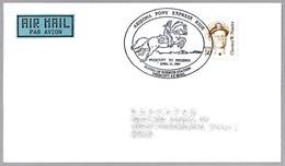 ARIZONA PONY EXPRESS RIDE - PRESCOTT TO PHOENIX - Caballo - Horse. Prescott AZ 1995 - Correo Postal