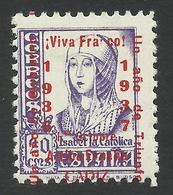 Spain, Cadiz 20 C. 1937, Mi # 22, MH - Nationalist Issues