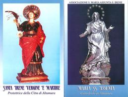 S. IRENE V. E . M. / MARIA SS. ASSUNTA  - Altamura - Mm. 85 X 120 - M - A - Religion & Esotericism