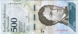 Venezuela  - Pick 94b - 500 Bolivares 2017 - Unc - Venezuela