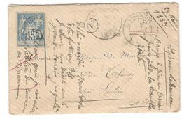 13480 - LAC DE GOULOUX - Marcophilie (Lettres)