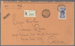 "Ägäische Inseln: 1932, 5 Lire ""Cinquantenario Della Morte Di Giuseppe Garibaldi ""SCARPANTO"", Very Fi - Ägäis"
