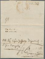 Albanien - Vorphilatelie: 1810. Entire Letter From DOBROTA (Port Of Cattaro, Adiratic Sea) To VENICE - Albanien