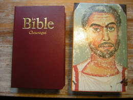 LA BIBLE CHOURAQUI 1985 PREMIERE EDITION EN UN VOLUME DANS SA BOITE TRES BON ETAT - Books, Magazines, Comics
