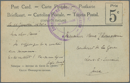 Albanien: 1920. Stamp-less Picture Post Card Of 'Greek, Tea Room' Dated 'Jan 11th 1920' Addressed To - Albanien