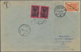 Albanien - Portomarken: 1925. Envelope (two Vertical Folds) Addressed To Tirana Bearing SG 178, 1q O - Albanien
