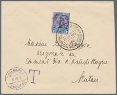 "Albanien - Lokalausgaben: 1915. Stampless Letter To An Address In SCUTARI, Despatched ""SHENGIJN, SHQ - Albanien"