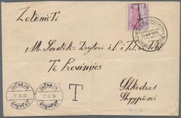 Albanien - Lokalausgaben: 1915, Large Envelope Written In SHËNGJIN, Sent UNFRANKED To Post Office Of - Albanien