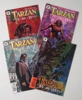 Tarzan - The Rivers Of Blood - #1 2 3 4 - Full Series - Dark Horse Comics - In English - Igor Kordey - 1999 - Livres, BD, Revues