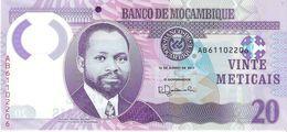 Mozambique - Pick New - 20 Meticais 2017 - Unc - Mozambique