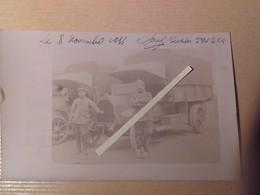 1915 Meuse Bois Le Prêtre Camion De La Section De Transport TM 224 Tranchée  Poilu Ww1 1914 1918 14-18 - Guerre, Militaire