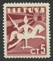 Lithuania, 5 C, 1940, Scott # 317, Mi # 437, MNH - Lithuania