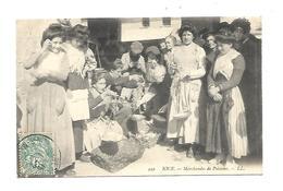 06 Nice  Marchandes De Poissons 1906 - Petits Métiers