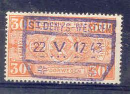 B542 -België Spoorweg Chemin De Fer  Stempel ST DENYS WESTREM - Chemins De Fer