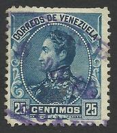 Venezuela, 25 C. 1899, Sc # 144, Used - Venezuela