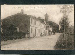 CPA - LES ARTIGUES DE LUSSAC - La Grande Rue, Animé - Altri Comuni