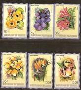Burundi 1986 OBCn° LP PA 553-558 *** MNH Cote 85 Euro Flore Fleurs Bloemen Flowers - 1980-89: Neufs