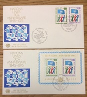 United Nations 1975 Geneve FDC - FDC