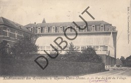 Postkaart - Carte Postale SINT KATELIJNE WAVER/WAVRE NOTRE DAME Etablissement Des Ursulines  (G81) - Sint-Katelijne-Waver