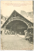 WW PARIS II. Cour De L'Auberge Du Compas D'Or Hangar Où Partaient Les Coches Pour Dreux 1905 - Arrondissement: 02