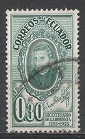 Ecuador 1956. Scott #608 (U) Brother Juan Adam Schwarz, S. J. * - Equateur