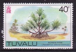 Tuvalu 1976 Single 40c Definitive Stamp. - Tuvalu