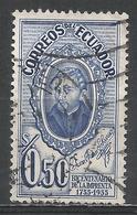 Ecuador 1956. Scott #610 (U) Brother Juan Adam Schwarz, S. J. * - Equateur