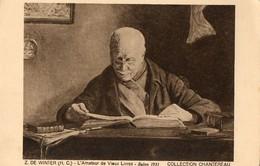 Amateur De Vieux Livres. CPA. Par De Winter.   Collection Chantereau. - Bibliothèques