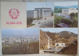 ALMA-ATA- Kazakistan - USSR - Almaty - Soviet Union - Multiview  NV - Kazakistan