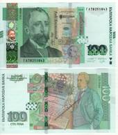 BULGARIA     Just Issued 100  Leva  Pnew   2019. New Logo UNC - Bulgarie