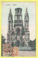 * Laken - Laeken (Brussel - Bruxelles) * (Mangelschotz, Nr 10) église, Kerk, Church, Kirche, Couleur, Timbre Cachet Rare - Laeken