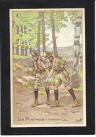 CPA JOB Scout Scoutisme éclaireurs Non Circulé Publicité La Belle Jardinière - Scouting