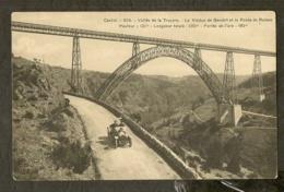 CP-GARABIT-CANTAL - Vallée De La Truyère - Le Viaduc De Garabit Et La Route De Ruines - France
