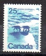 Sello De Canadá Nº Yvert 474a Dientes De 13 1/2 ** Valor Catálogo 4.5€ - 1952-.... Règne D'Elizabeth II