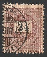 Hungary, 24 K, 1888, Sc # 31, Used. - Hungary
