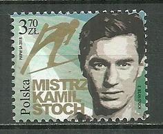 POLAND MNH ** 2018 Kamil Stoch Ski Sport - 1944-.... Republik