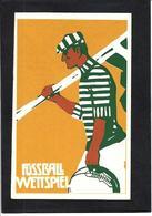 CPA Rugby Art Nouveau Non Circulé - Rugby